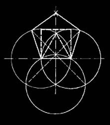 what is the relationship between sides of pentagram